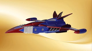 God Phoenix Model Review Gatchaman G-Force Battle of the Planets