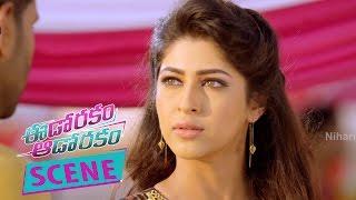 Raj Tarun Touches Hebah Patel Navel - Romantic Love Scene - Eedo Rakam Aado Rakam Movie Scenes