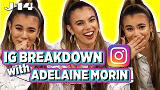 Adelaine Morin Looks at Old Pics With Matt, Bethany Mota, and More | IG Breakdown