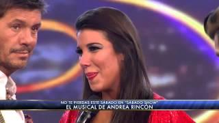 Showmatch 2012 - Andrea Rincón furiosa con Flavio Mendoza
