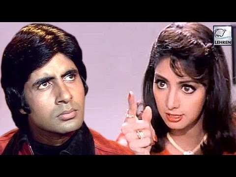 When Sridevi REFUSED To Work With Amitabh Bachchan