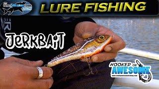 How to Fish Lures | The Jerkbait - TAFishing ft. Kanalgratis
