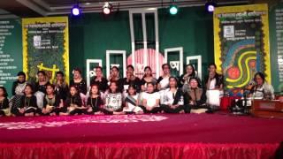 BIPA performing - Sommilito Mohan Akushe Upjapon 2014