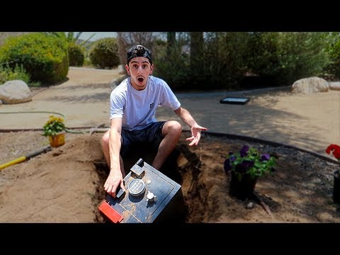 Xxx Mp4 We Found A SECRET SAFE BURIED In Our BACKYARD What39s Inside 3gp Sex