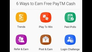 6way to earn paytm cash_2019_How to earn money from website in Hindi _2019_earn money online 2019