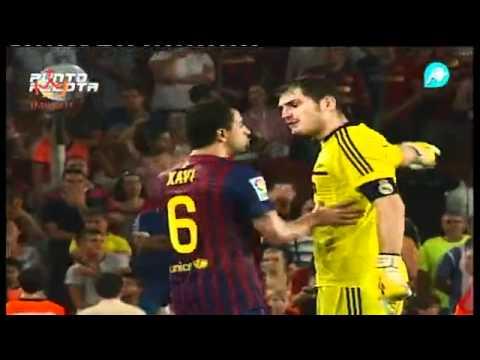 Gesto despectivo de messi a mou tras conseguir el 3 2 barcelona real madrid supercopa de españa 2011