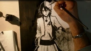 Speed drawing Ulquiorra Schiffer -Bleach-
