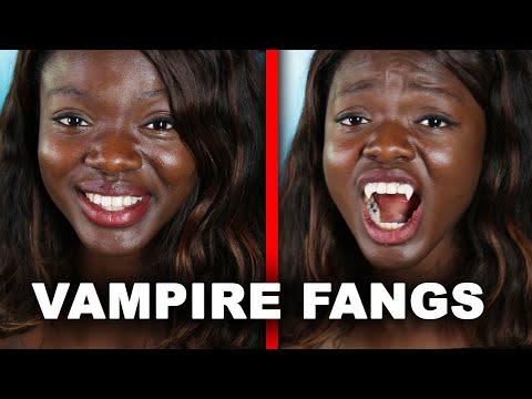 Xxx Mp4 I Got Real Vampire Fangs 3gp Sex