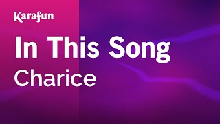 Karaoke In This Song - Charice *