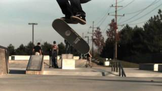 720 double kickflip 1000 fps slow motion