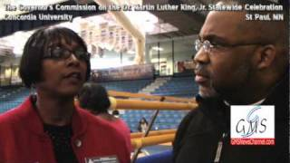 GMS interviews Rena Moran - Governor's Commission 25th Anniv MLK., Holiday