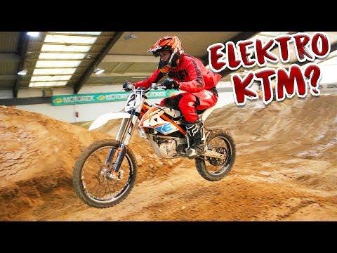 MEIN ERSTES MAL E-MOTOCROSS   EDIRTARENA KTM E-XC FREERIDER