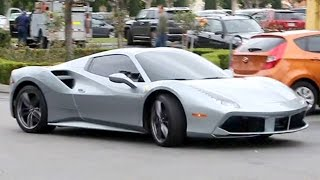 Kylie Jenner Rocking A New Silver Ferrari
