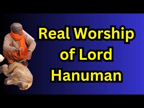 Xxx Mp4 Real Workship Of God Hanuman असली हनुमान पूजा Shyam Sadhu 3gp Sex