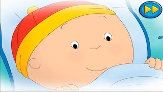 Goodnight Caillou App Gameplay - Song, Summer, Music, Bedtime Activities