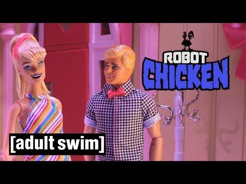 3 Barbie Moments Robot Chicken Adult Swim