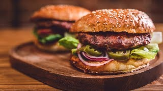 Top 5 Homemade Burger Recipes 2018 - Homemade Burger Recipe Videos