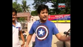 Ollywood Actor Babushan Escapes Accident