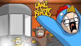 POKEMON SHOWDOWN!! - Gang Beasts Funny Moments