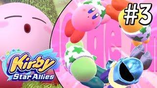 Kirby Star Allies (Switch) | ¡KIRBY Y REY DEDEDE SON AMIGOS! | Capítulo 3