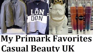 Primark - My favorite new items this month | August 2016 | Casual Beauty UK