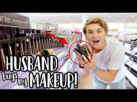 MY HUSBAND BUYS MY MAKEUP! | Aspyn Ovard
