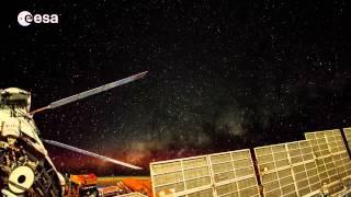 Lo Spazio visto dalla Stazione Spaziale Internazionale.