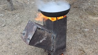 How to Make a Rocket Stove at Home