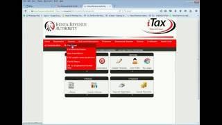 ITAX KRA KENYA  FILLING RETURNS USING P9 FORM PART1