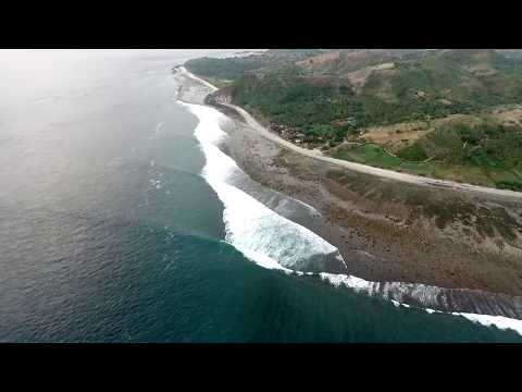 Epic Swell at Desert Point Lombok june 2017 - drone surf Indonesia