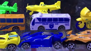 New Transporter Playsets toys | Colors for Children to Learn with Transporter Toys