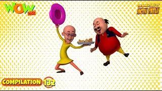 Motu Patlu - Non stop 3 episodes   3D Animation for kids - #132