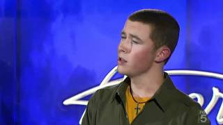 Scotty McCreery Audition - American Idol 2011 Winner