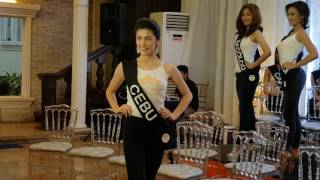 Miss Silka 2016 Visayas Candidates Press Presentation