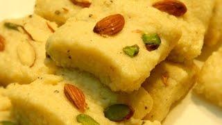 Instant Kalakand / Kalakand Recipe /Very Quick and Easy Recipe  by Khana Manpasand