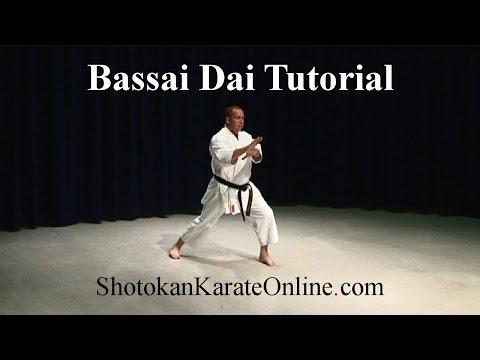 Bassai Dai Tutorial Shotokan Karate Kata