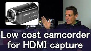 Bargain Panasonic V160 camera for Livestreaming is surprisingly good.