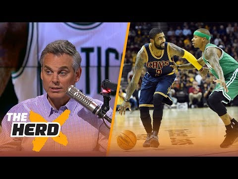 Kyrie Irving Isaiah Thomas trade Which team won Colin Cowherd reacts THE HERD