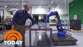 Veo Robotics Wants To Integrate Humans And Robots In The Workplace | TODAY