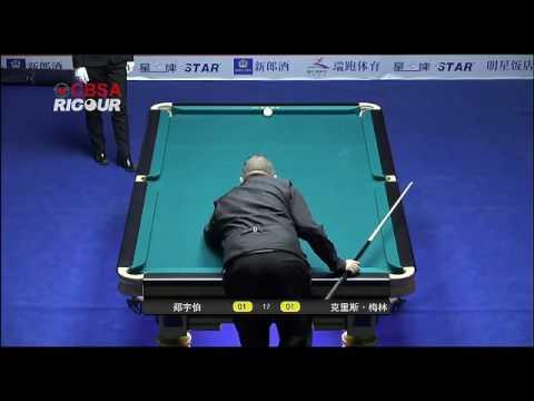 Zheng Yubo VS Chris Melling (ENG) - Mens QF - 2016 Chinese Pool International Open Miyun Ev