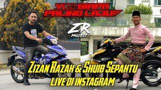 ZR PROJECT   Zizan Razak & Shuib Sepahtu Live di Instagram