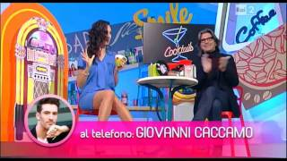 Caterina Balivo hot legs 03/05/15