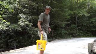The Easy Way to Catch Minnows - FREE LIVE FISHING BAIT!
