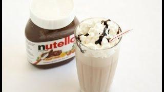How To Make A Nutella Milkshake