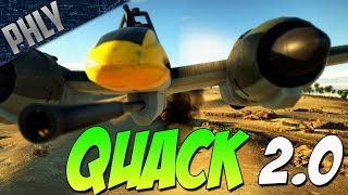 DUCK VERSION 2.0 - Introducing the Quack CAM (War Thunder Gameplay)