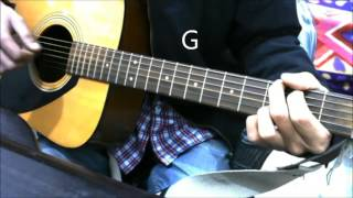 Humsafar | Ye Dooriyan | | Pal Pal Dil Ke Pass | - Only Down Strokes Guitar Cover Lesson Chords