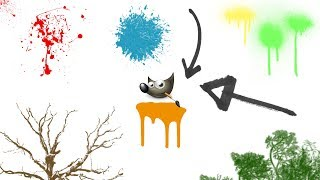 How to Get and Install Free Brushes for GIMP 2.8