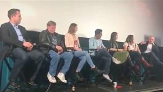 Wynonna Earp panel at Calgary Film Festival 2017