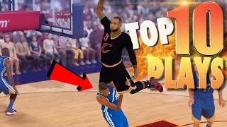NBA 2K17 TOP 10 Most Disrespectful Dunks, Ankle Breakers & Trick Shots