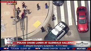 pc mobile Download ONE SUSPECT CAUGHT: Following CA Police Chase that Lands at Glendale Galleria (FNN)